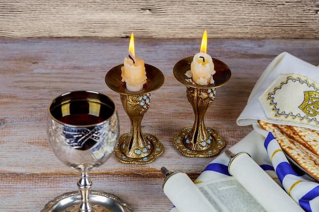 Shabbat shalom - traditionelles jüdisches sabbatritual