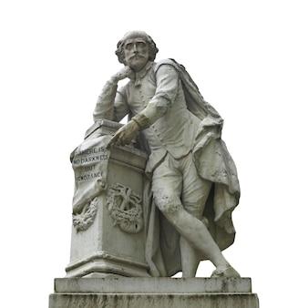 Shakespeare-statue in london