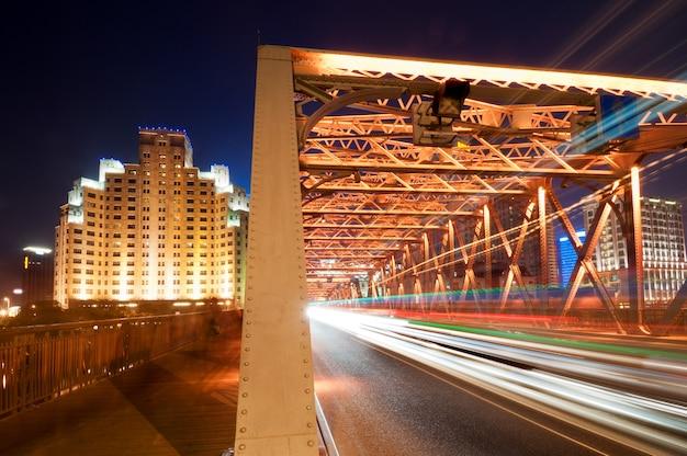 Shanghai bridge nacht