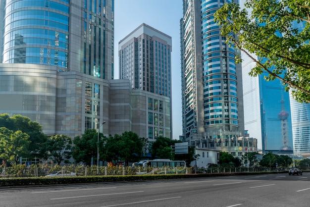 Shanghai lujiazui finanzbezirk