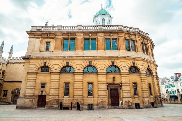 Sheldonian theater in oxford - england, großbritannien