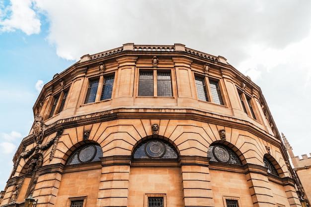 Sheldonian theatre in oxford - england, vereinigtes königreich