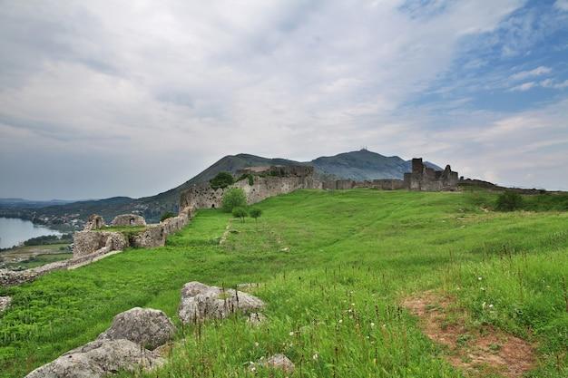 Shkodra schloss in albanien, balkan