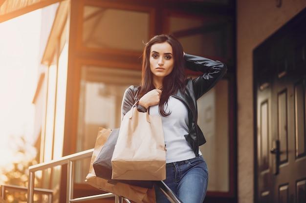 Shopping-mädchen