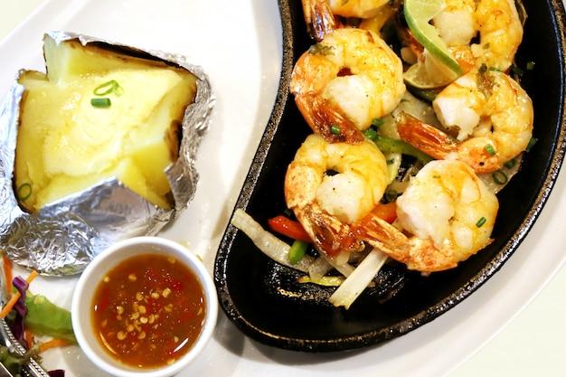 Shrimps-steak