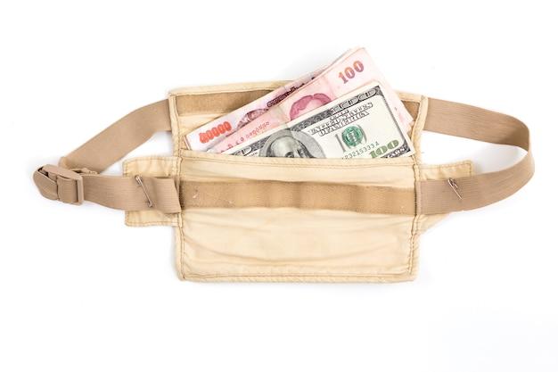 Sicherheits-hüfttasche für reisende