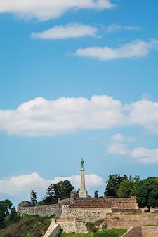 Siegerdenkmal in belgrad, serbien