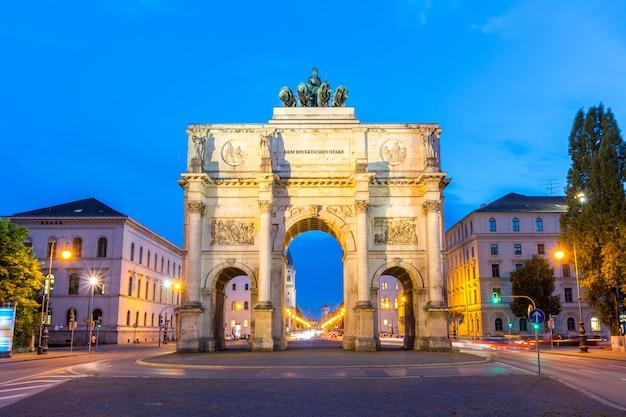 Siegesbogen in münchen
