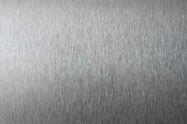 Silbermetallische textur. edelstahlbeschaffenheitsabschluß oben