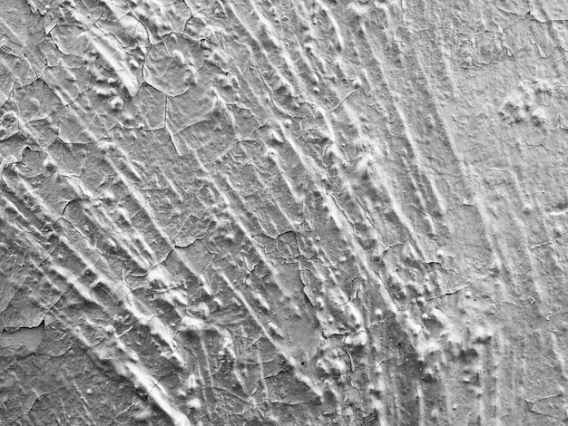 Silberne wandbeschaffenheit des abstrakten hintergrundes alte grunge sprungs