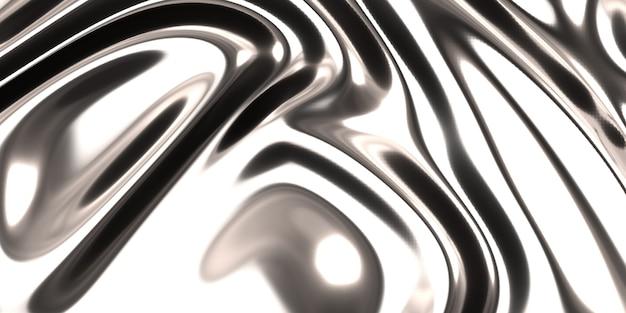 Silberner satin- oder seidenhintergrund