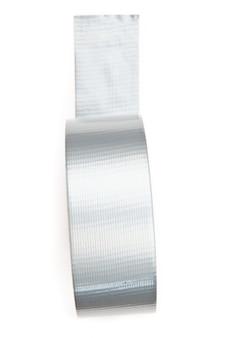 Silbernes klebeband