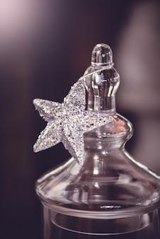 Silberstern, weihnachten dekoriert
