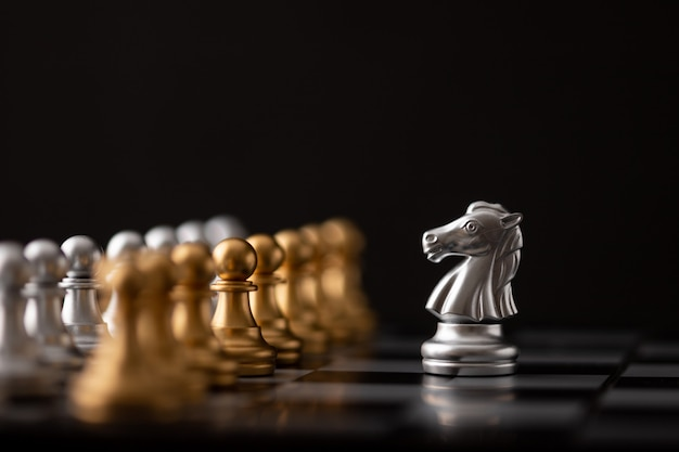 Silver hores ist der anführer des schachs