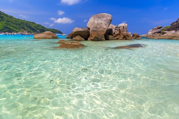 Similan-insel in andamanensee, phuket, thailand
