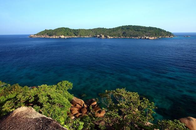 Similan nationalpark, paradiesinsel gelegen südlich von thailand