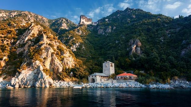 Simonopetra-kloster in athos