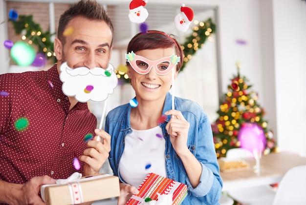 Sind sie bereit, ihre geschenke auszupacken?
