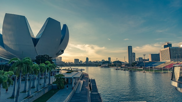 Singapur das artscience museum
