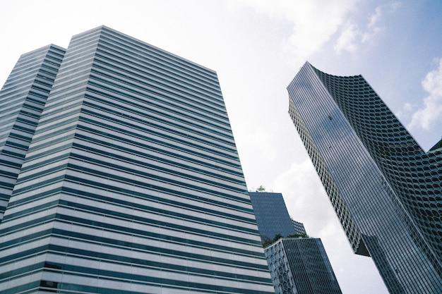 Singapur finanzstadtansicht, geschäft