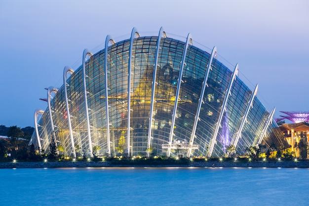 Singapur garten an der bucht