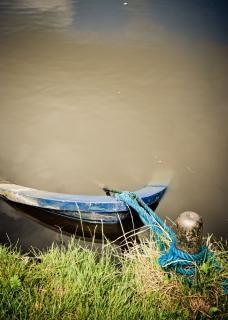 Sinkende boot