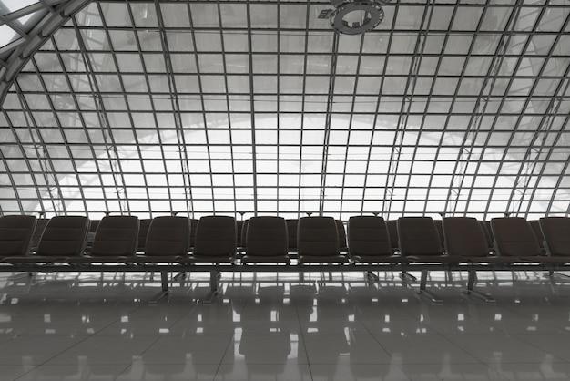 Sitze am flughafen