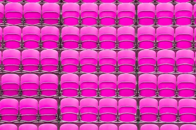 Sitzplätze im stadion