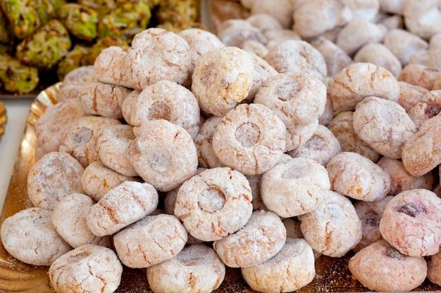 Sizilianische paste di mandorle