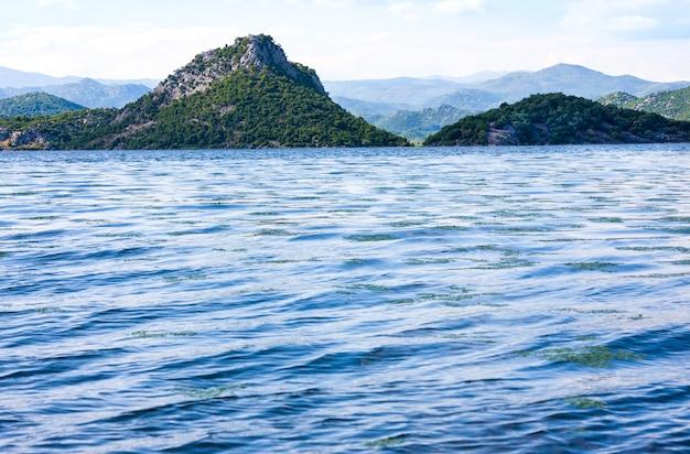 Skadar see nationalpark, montenegro