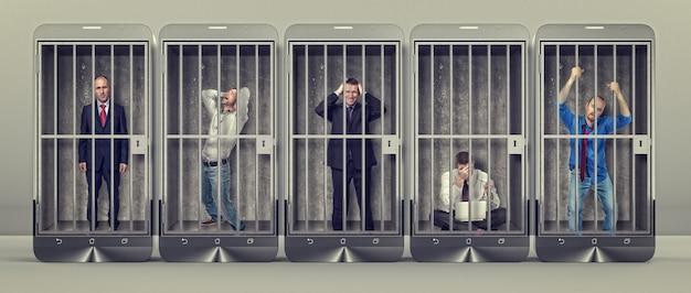 Sklave des smartphones