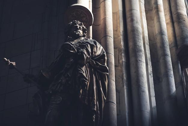 Skulptur in st. vitus cathedral