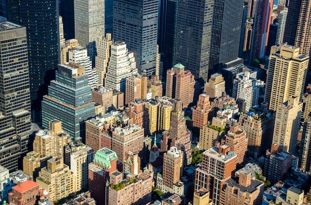Skyline der stadt new york, new york, vereinigte staaten von amerika
