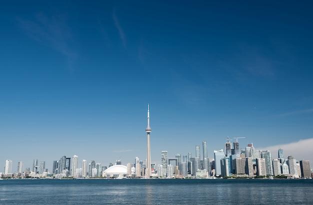 Skyline der stadt toronto, ontario, kanada