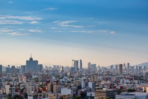 Skyline von mexiko-stadt