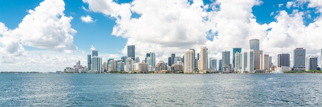 Skyline von miami downtown