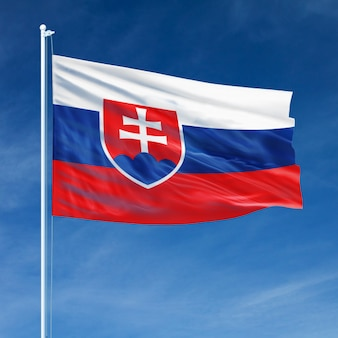 Slowakei flagge fliegen