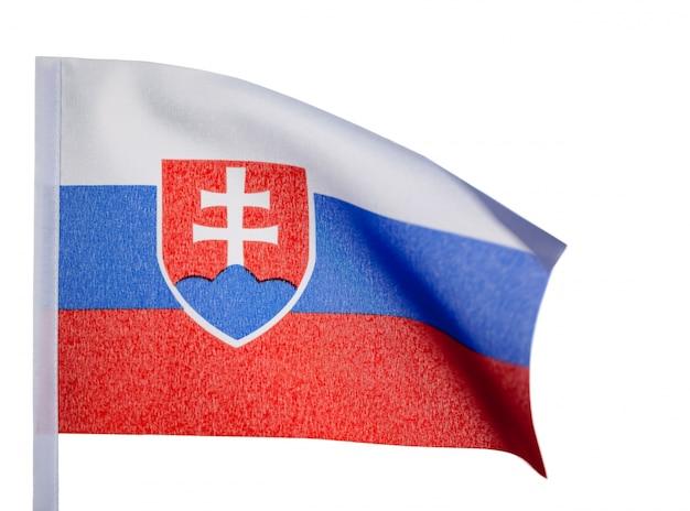 Slowakische flagge