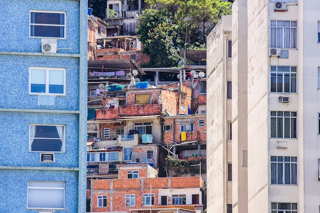 Slum in copacabana babylon