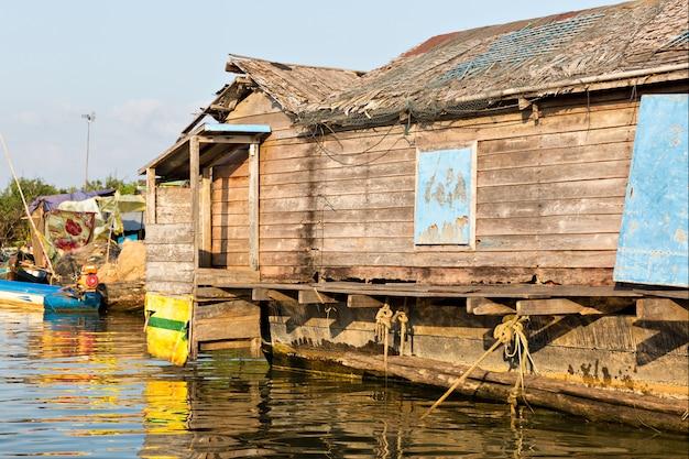 Slums in kambodscha