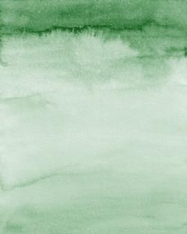 Smaragdgrüne aquarell-hintergrundtextur, grüne überlagerung, digitales papier