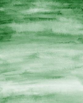 Smaragdgrüner aquarell-hintergrund, papierstruktur, digitales papier