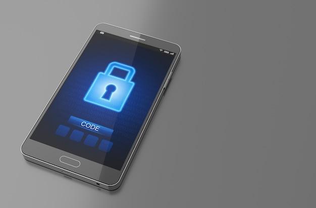 Smartphone Sperrbildschirm