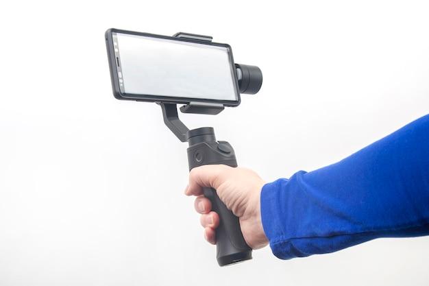 Smartphone mit stabilisator