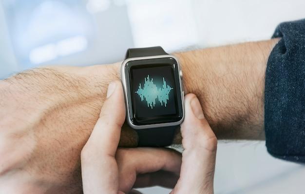 Smartwatch-bildschirm