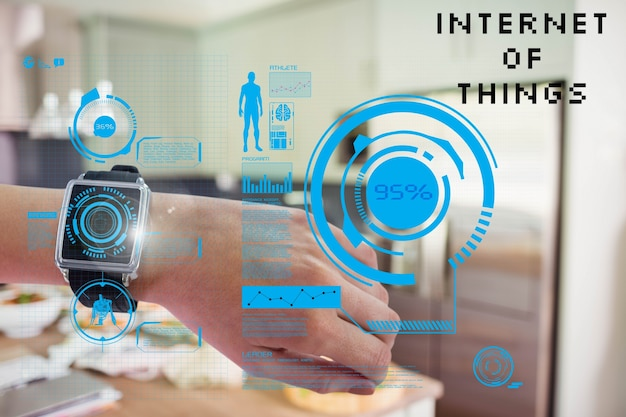 Smartwatch mit augmented reality