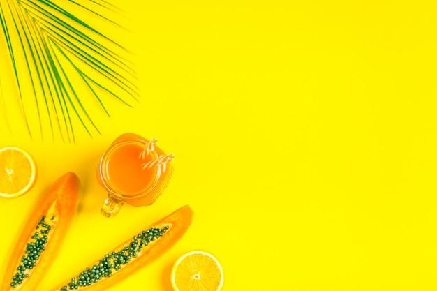 Smoothies cocktail orangensaft