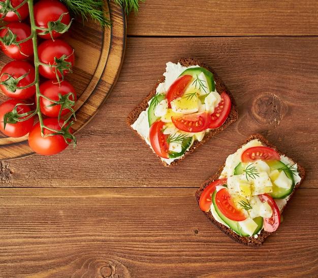 Smorrebrod - traditionelle dänische sandwiches