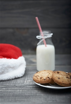Snack für den weihnachtsmann ist fertig