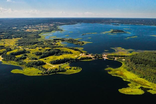 Snudy- und strusto-seen im nationalpark braslav lakes